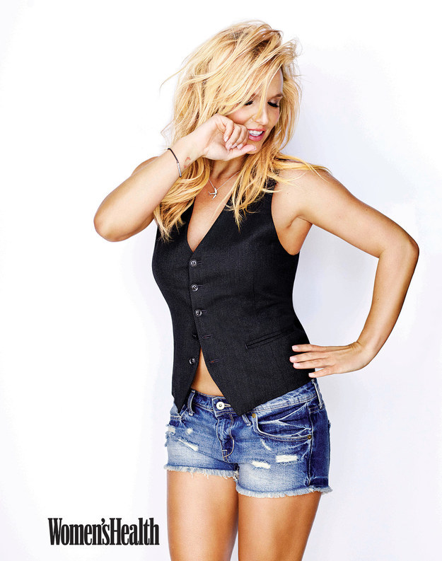 Britney Spears - Women's Health Magazine (Jan/Feb 2015) adds