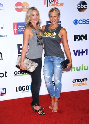 Brittany & Cynthia Daniel - 2014 Stand Up 2 Cancer Live Benefit in Hollywood