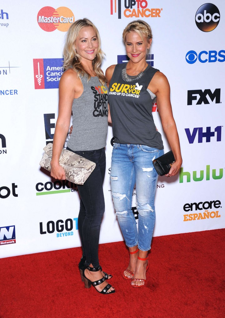 Brittany & Cynthia Daniel – 4th Annual Stand Up 2 Cancer Live Benefit in Hollywood