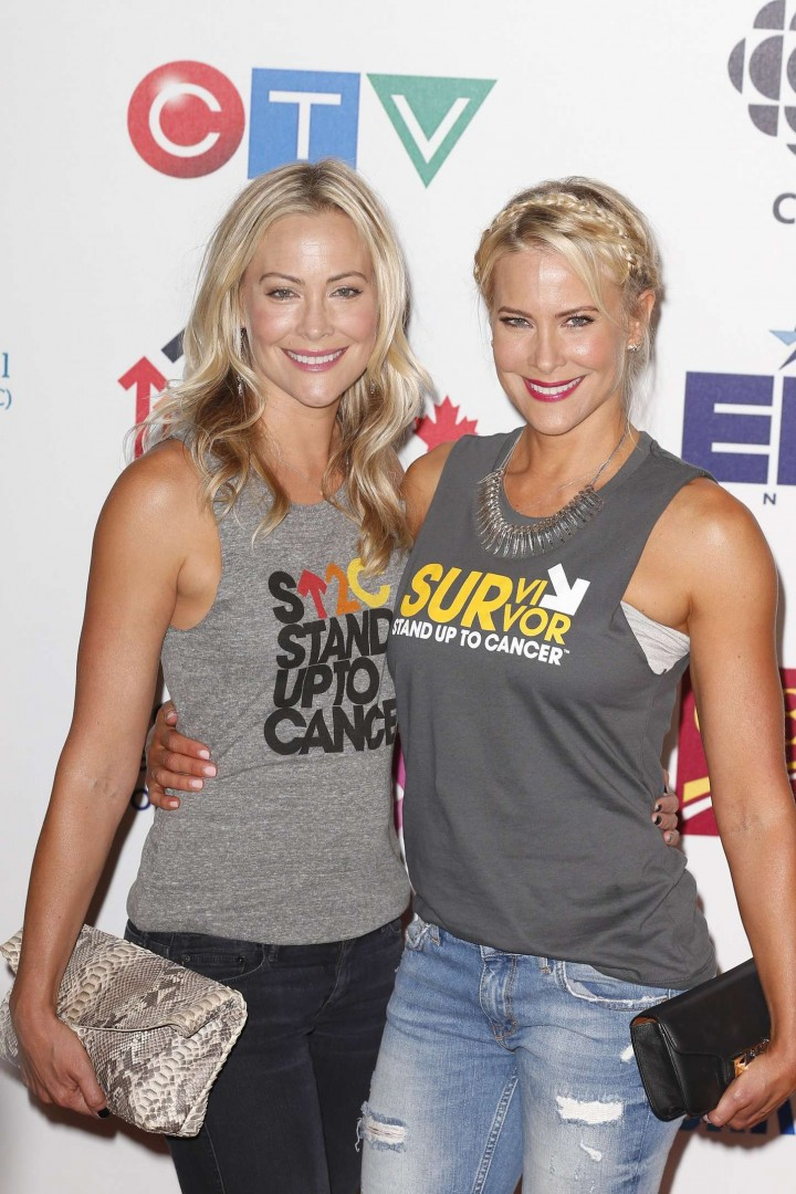 brittany and cynthia daniel 2014 stand up 2 cancer live