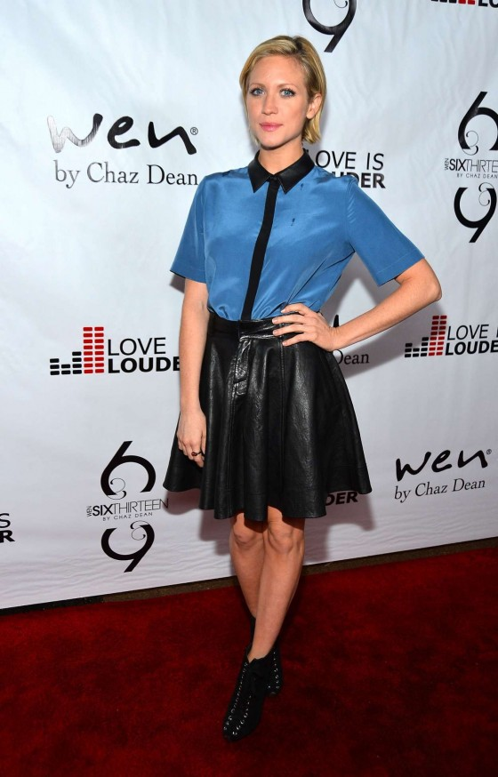 Brittany Snow - 2012 Chaz Dean's Holiday Love is Louder Benefit Party in LA
