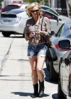 Brittany Snow - Out in LA-04