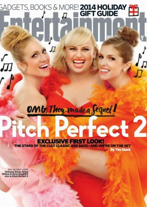 Brittany Snow, Rebel Wilson & Anna Kendrick - Entertainment Weekly Magazine (November 2014)