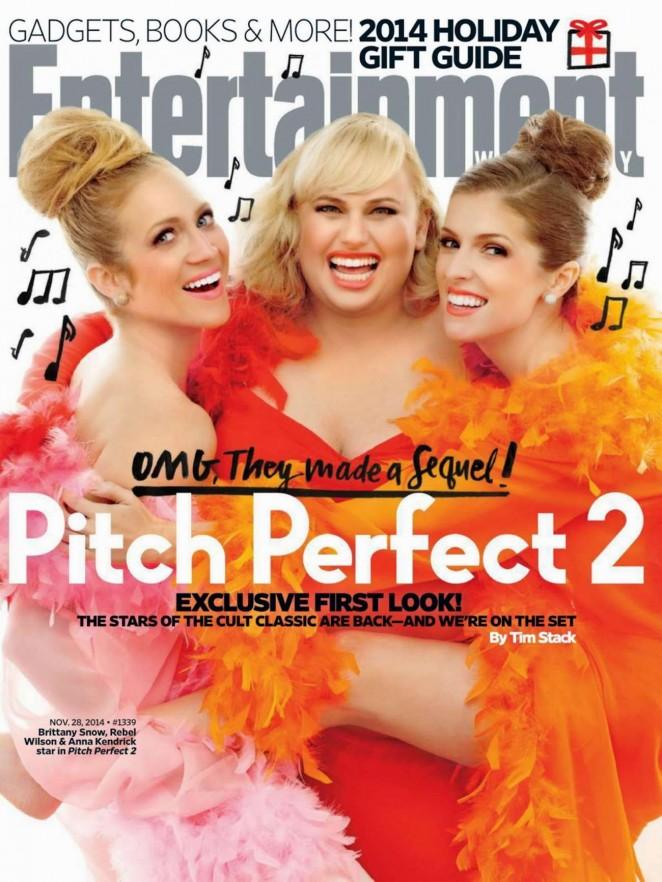 Brittany Snow, Rebel Wilson & Anna Kendrick - Entertainment Weekly Magazine (November 2014)