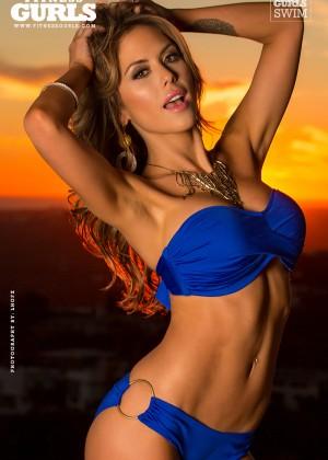 Brittney Palmer in Bikini for Fitness Gurls Magazine