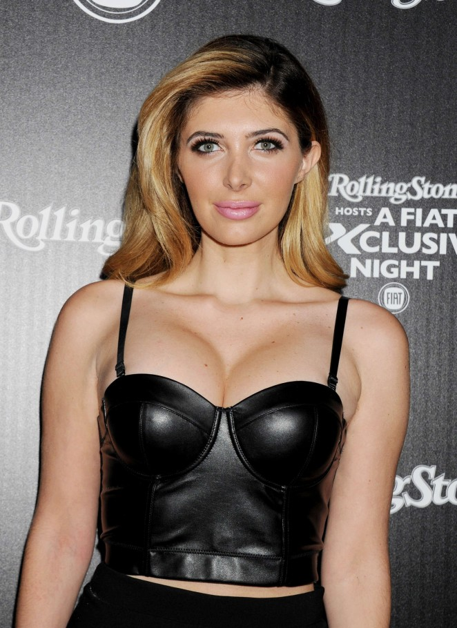 Brittny Gastineau - FIAT Exclusive Night Celebrating The Launch Of The All-New Fiat 500X in Hollywood