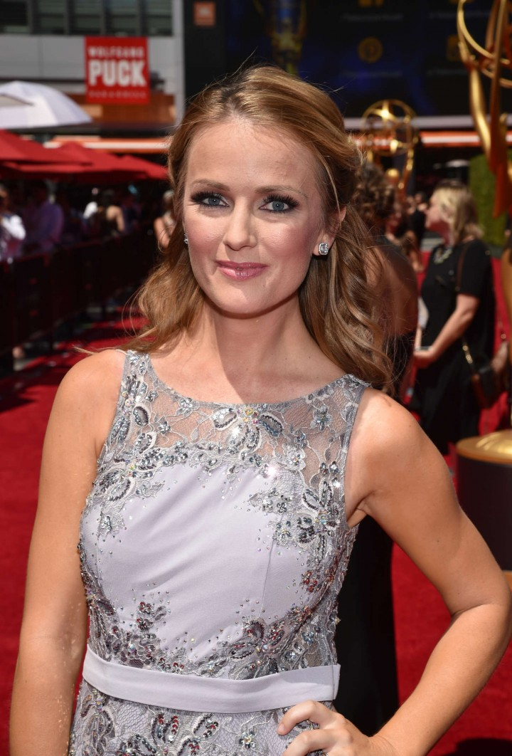 Brooke Anderson - Creative Arts Emmy Awards 2014