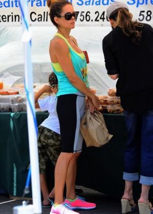 Brooke Burke hot in tights -04
