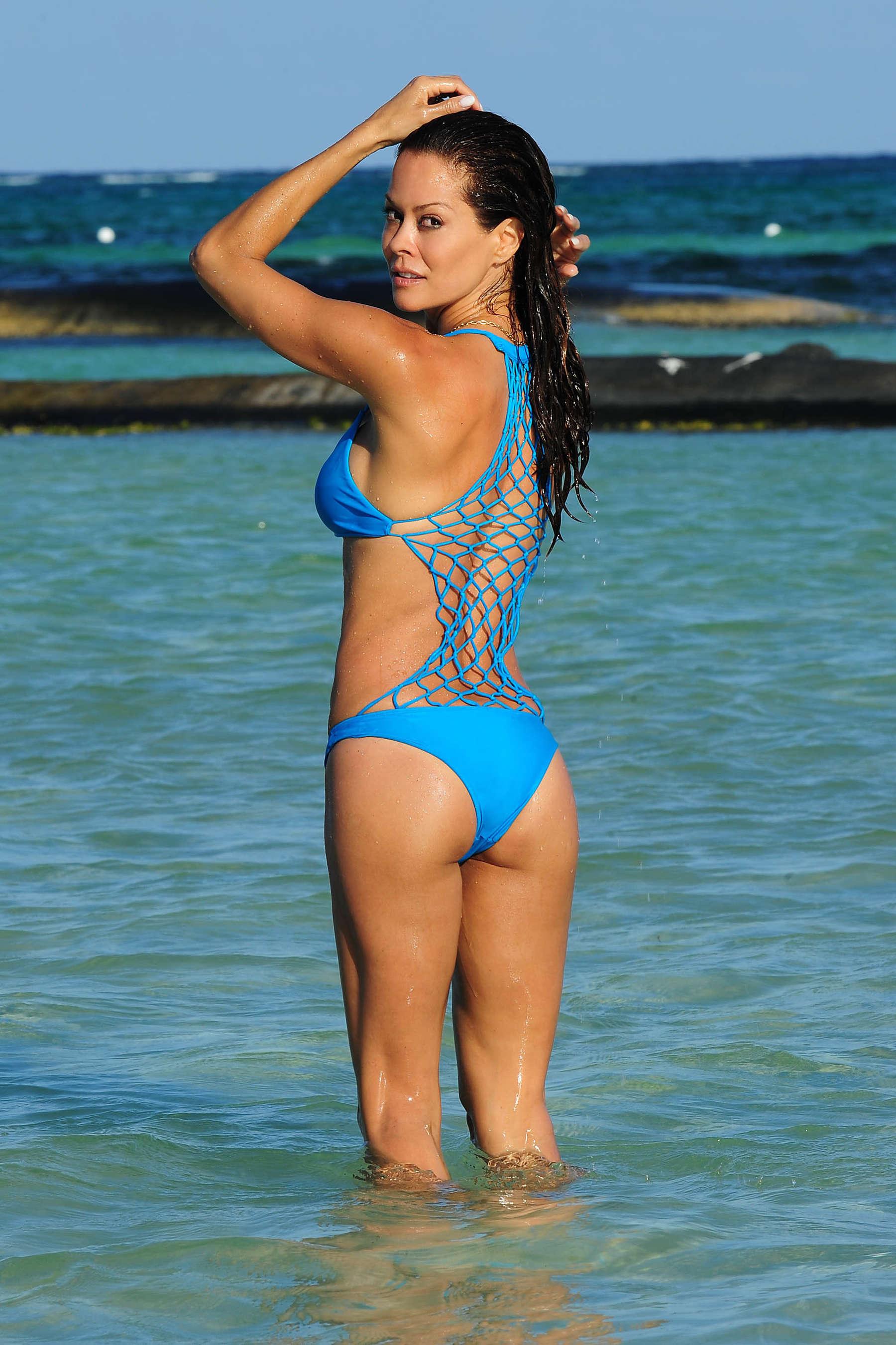 Trade brooke burns bikini With