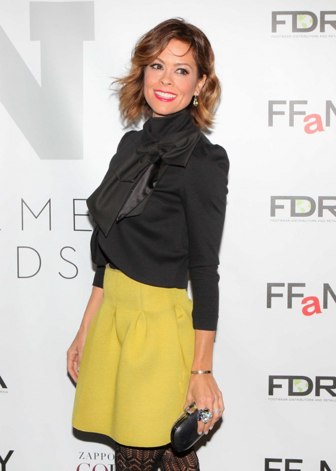 Brooke Burke – Footwear News Achievement Awards in New York