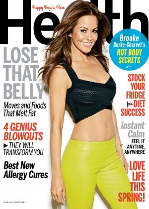 Brooke Burke: Health Magazine -01