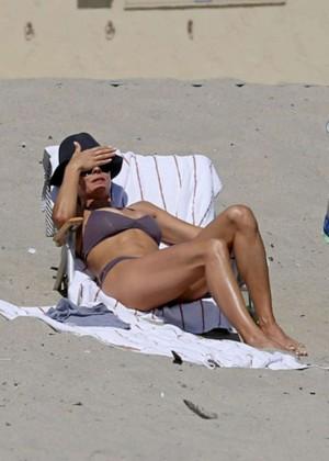 Brooke Burke Bikini Photos: 2014 Malibu -01