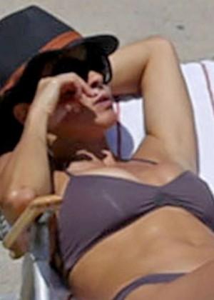 Brooke Burke Bikini Photos: 2014 Malibu -03