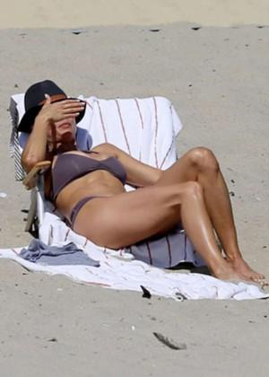 Brooke Burke Bikini Photos: 2014 Malibu -04