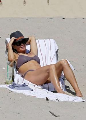 Brooke Burke Bikini Photos: 2014 Malibu -06