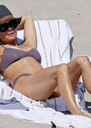 Brooke Burke Bikini Photos: 2014 Malibu -07