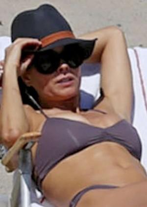 Brooke Burke Bikini Photos: 2014 Malibu -08