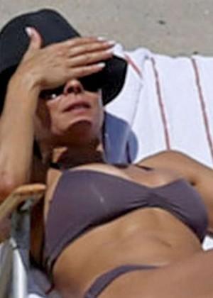 Brooke Burke Bikini Photos: 2014 Malibu -10