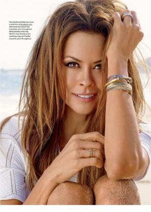Brooke Burke: Shape Magazine 2014 -08