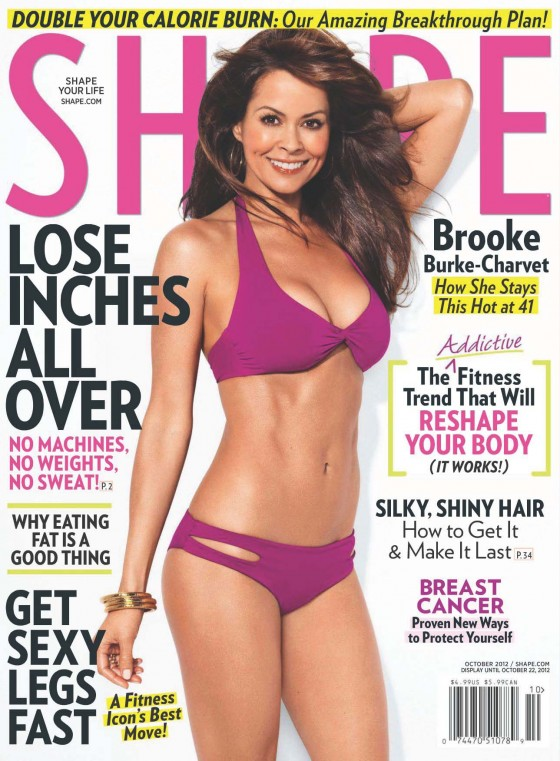 Brooke Burke - In a bikini for Shape USA Magazine (Oct 2012)