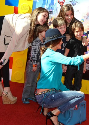 Brooke Burke: The LEGO Movie Premiere -01