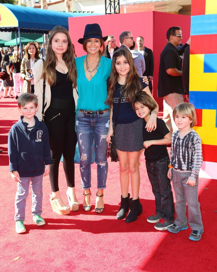 Brooke Burke: The LEGO Movie Premiere -02