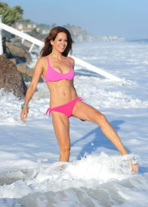 Brooke Burke Hot Bikini: Malibu 2014 -04