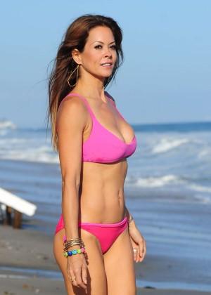 Brooke Burke Hot Bikini: Malibu 2014 -10