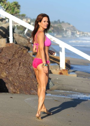 Brooke Burke Hot Bikini: Malibu 2014 -11