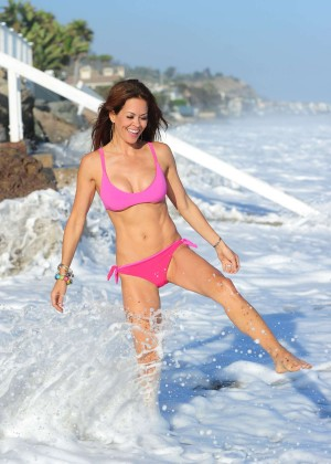 Brooke Burke Hot Bikini: Malibu 2014 -24