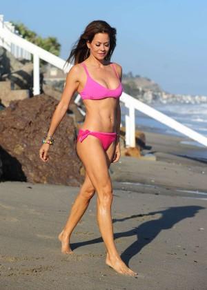 Brooke Burke Hot Bikini: Malibu 2014 -25