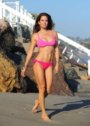 Brooke Burke Hot Bikini: Malibu 2014 -29