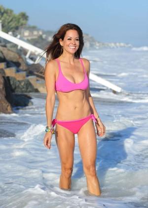 Brooke Burke Hot Bikini: Malibu 2014 -35