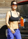 Brooke Burke - Workout in Malibu-12