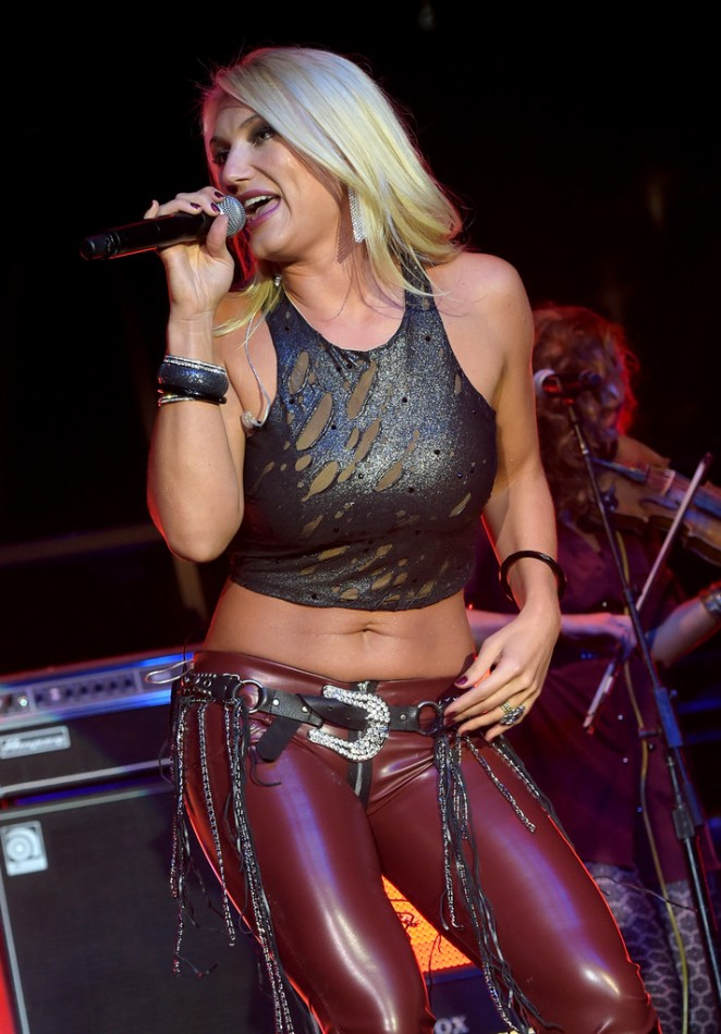 Brooke Hogan - Performing at IEBA 2014 Conference in Nashville
