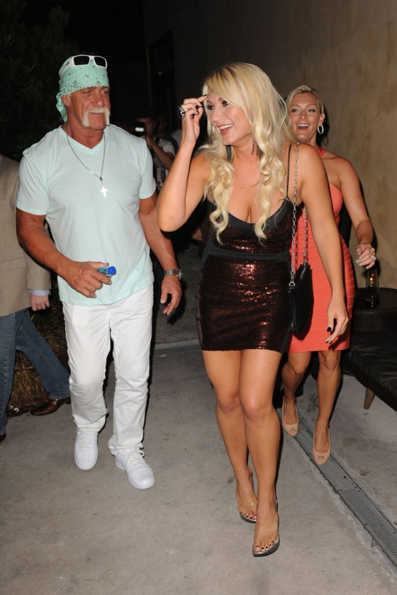 Brooke Hogan PETA