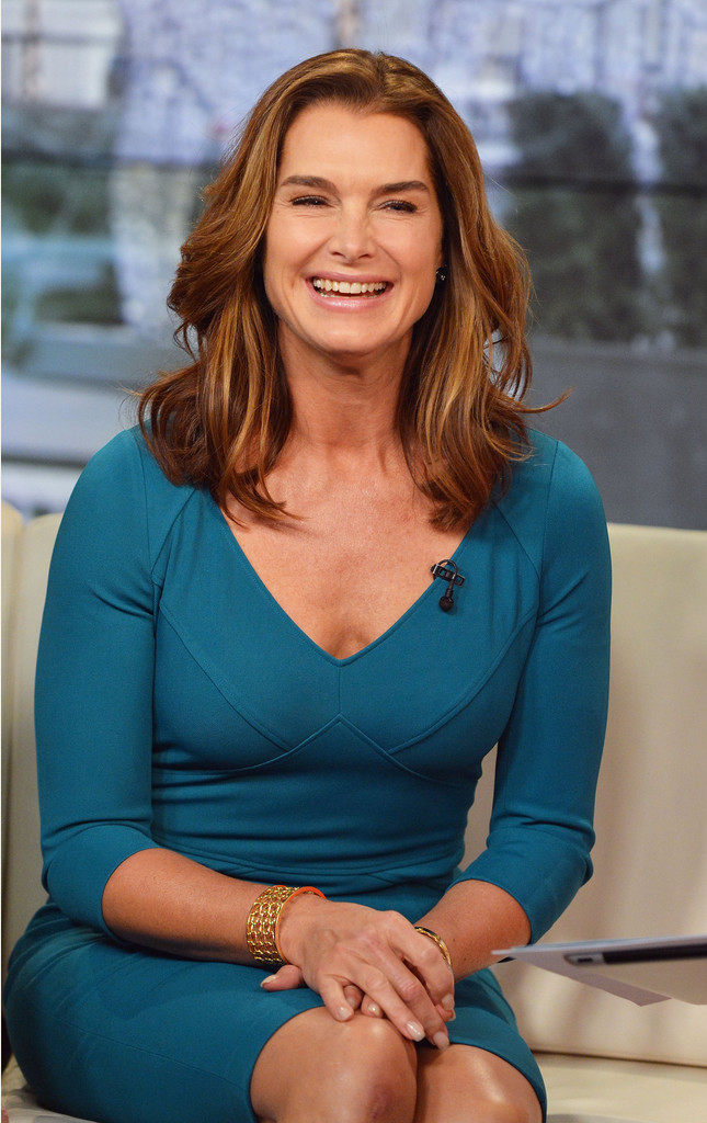 Brooke Shields at 'FOX & Friends' in NYC