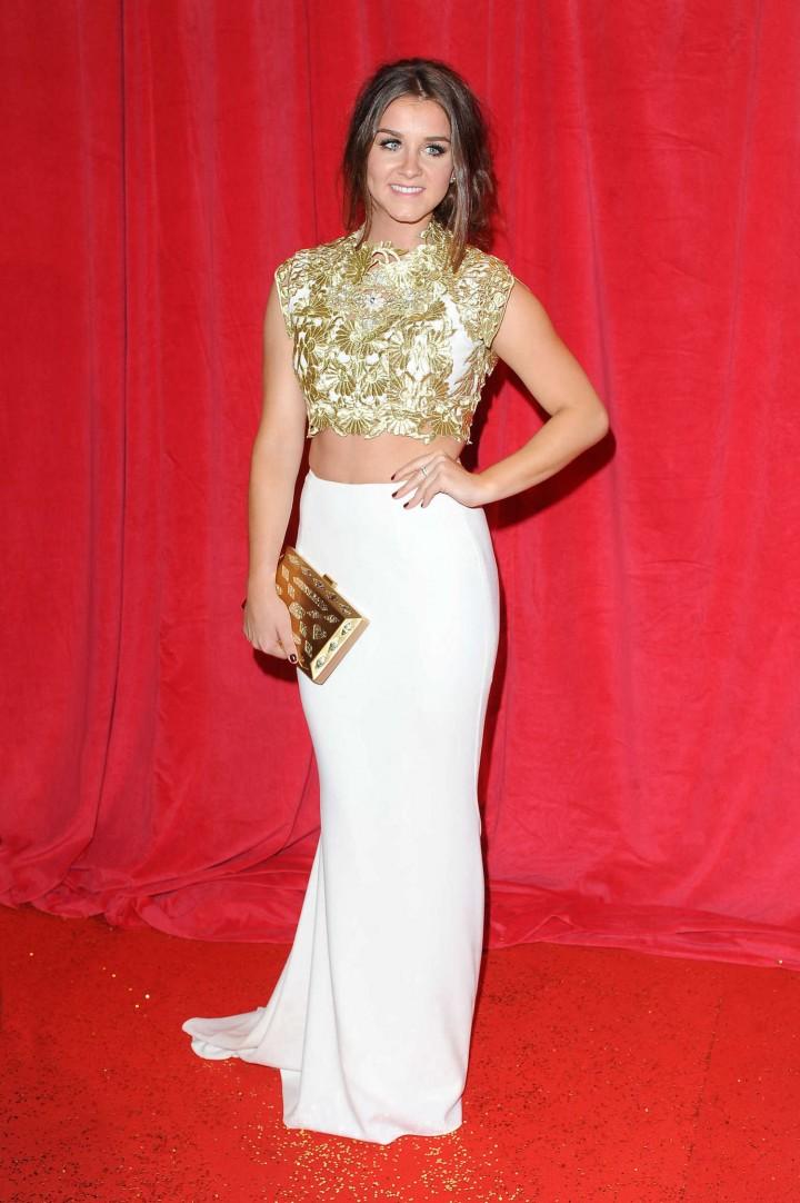 Brooke Vincent: British Soap Awards 2014 -02