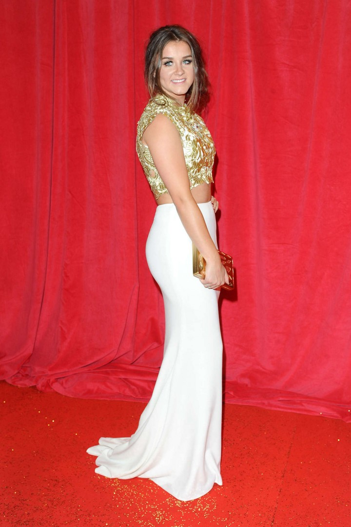 Brooke Vincent: British Soap Awards 2014 -03