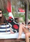 Brooke Vincent in a polka dot bikini -02