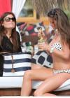 Brooke Vincent in a polka dot bikini -15