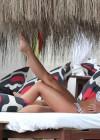 Brooke Vincent in a polka dot bikini -17