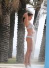 Brooke Vincent in a polka dot bikini -29