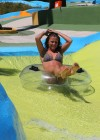 Brooke Vincent - Wearing a leopard print bikini -30