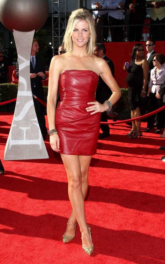 Brooklyn Decker in Sexy Red Dress at 2011 ESPY Awards in LA