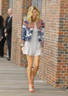 Brooklyn Decker legs in short dress at Battleship Photocall