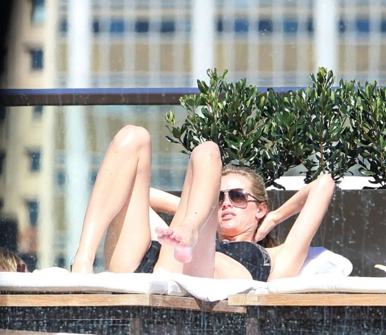 Brooklyn Decker – Bikini at a pool in Sydney-40
