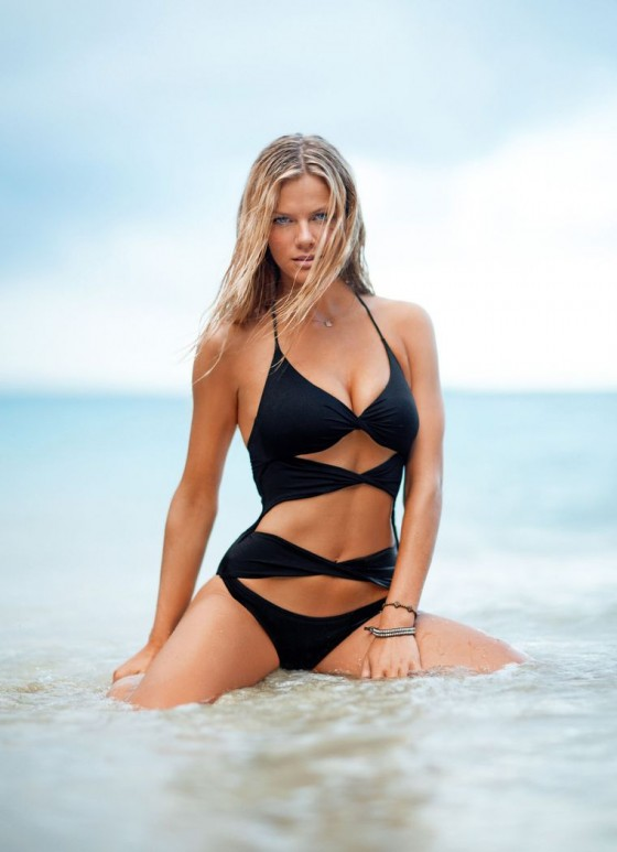 Brooklyn Decker bikini queen at Loaded UK March 2011