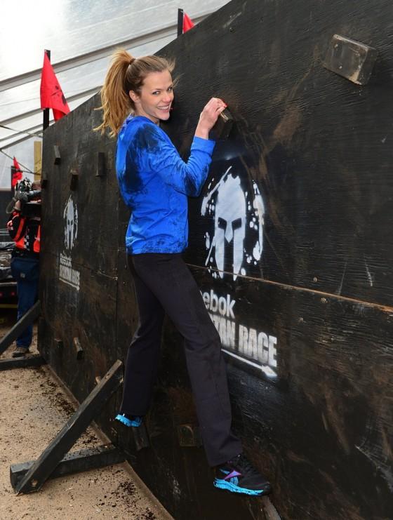 Spartan Race Las Vegas >> Brooklyn Decker – The Reebok Spartan Race in NY – GotCeleb