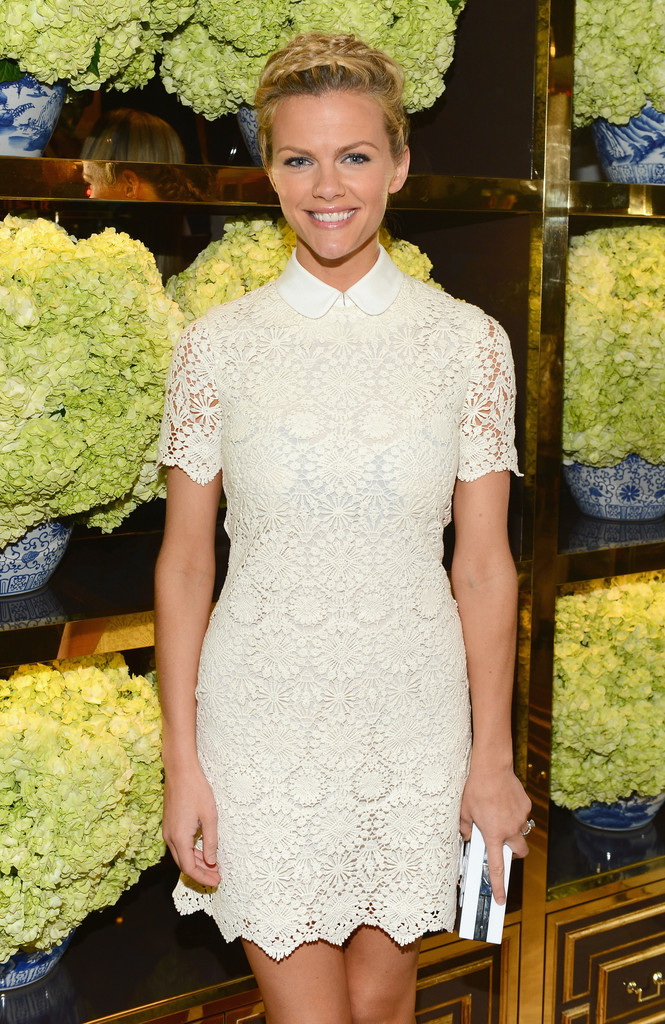 Brooklyn Decker: Tory Burch Flagship Store Opening -03